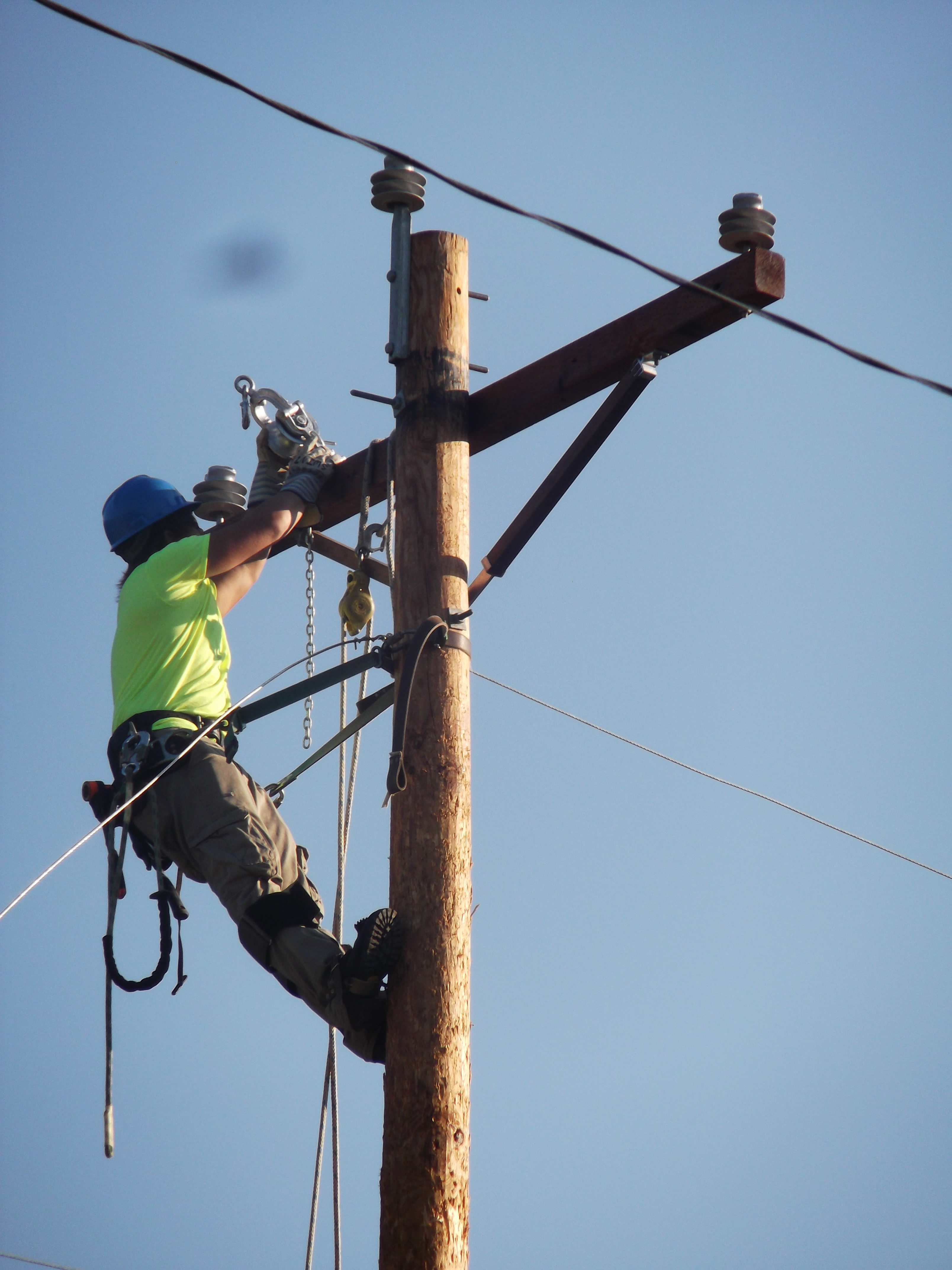 Power Line Construction & Maintenance | TCAT Oneida